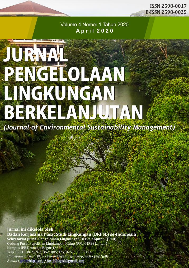 JPLB, Vol 4, No 1 (2020)