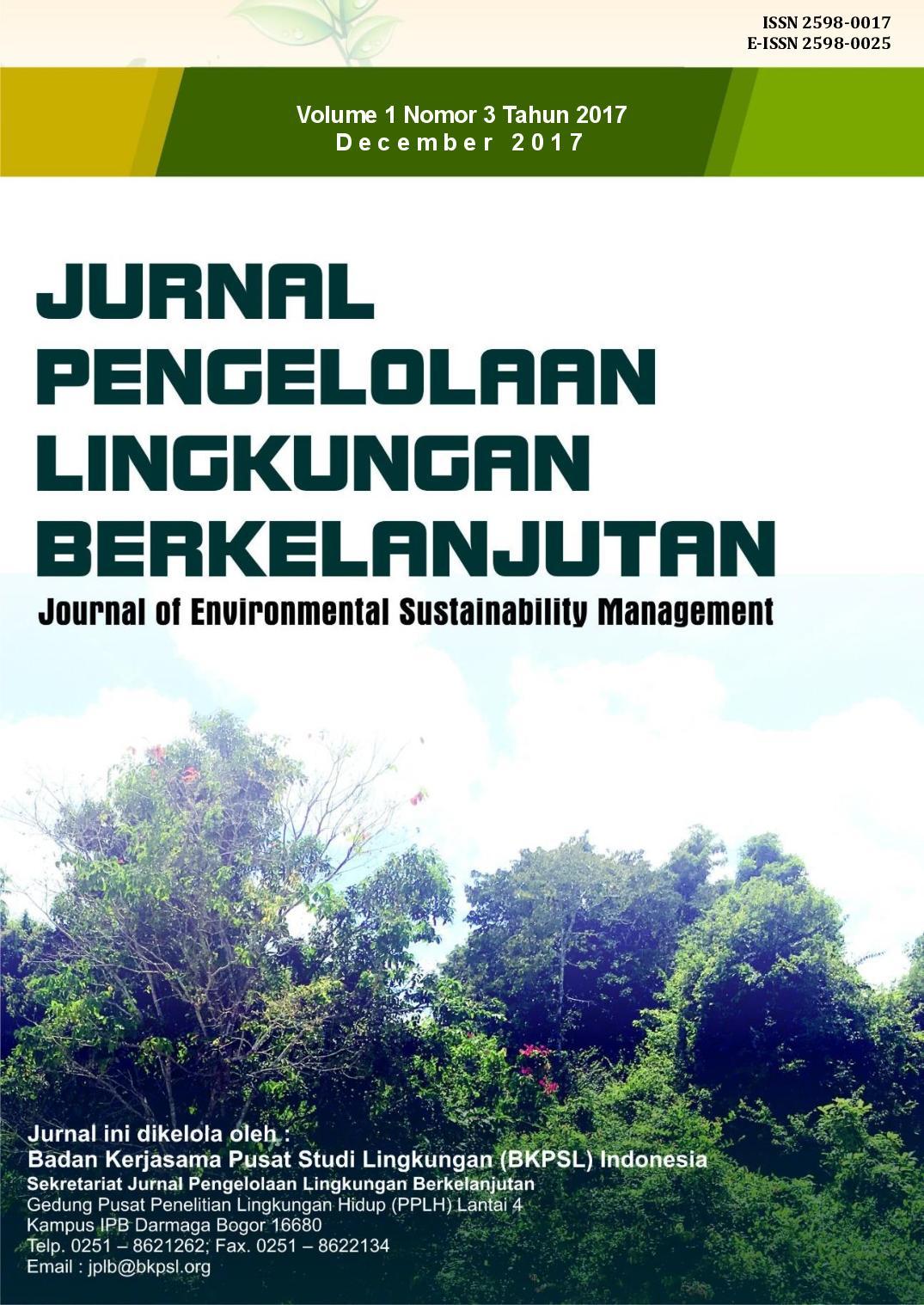 JPLB, Vol 1, No 3 (2017)